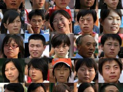Different Chinese People